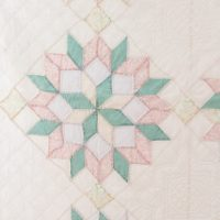 Double star quilt-10